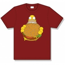 simpsons homer t-shirt