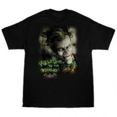 Batman t-shirt taglia Xl arkaham asylum wlcome to madhoude