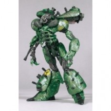 Cyber Units Action Figure: Defender Unit 001 - Green