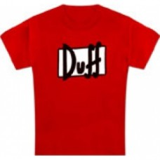 simpsons t-shirt duff