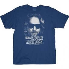 Big Lebowski The Dude Abides T-Shirt taglia L