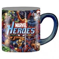marvel heros mug