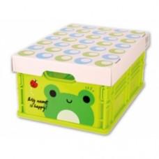 scatola chiudibile rana