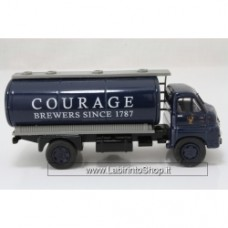 Vanguards VA7004 Bedford S Type Tanker  Courage Brewers 1/64