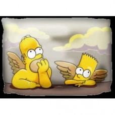 cuscino angeli simpsons