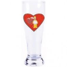 simpsosns homer love hurts bicchiere da birra