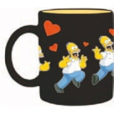simpsons homer mug cuori