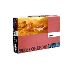 Fujimi 1:76 Scale Bridge and Checkpoint Set Model Kit