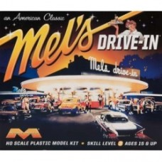 Moebius Mel's Drive-In HO Scale