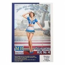 Suzie Join Navy See World - Pin-Up Series 1/24 MB Master Box ltd