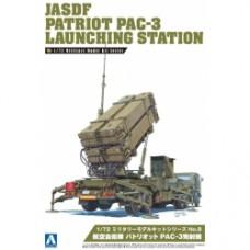 Military model Kit No.8 Air Defense Patriot PAC 3 Launcher 1/72