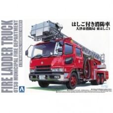 Working Vehicle No.2 Fire Ladder Truck 1/72
