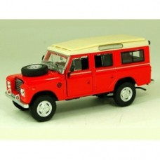 Cararama Diecast Model - Red Land Rover Series III 109 - 1:43 Scale