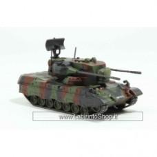 Flakpanzer Gepard Anti aircraft tank Die Cast Eaglemoss EM-CV020 Scale 1:72