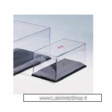 Clear Cover (Vitrine) with black plastic base 1/43