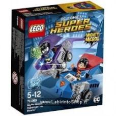 LEGO SUPER HEROES MIGHTY MICROS: SUPERMAN CONTRO BIZZARRO 76068