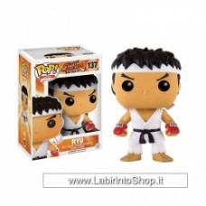 Pop! Games: Street Fighter - Ryu With Headband White