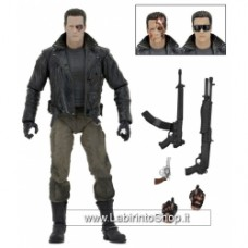 NECA Terminator - 7″ Action Figure – Ultimate T-800 (Police Station Assault)