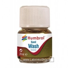 Humbrol 28ml Enamel Wash (Sand)