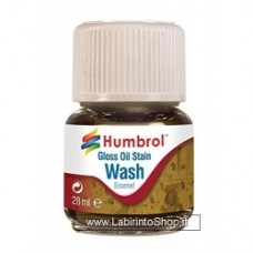 Humbrol 28ml Enamel Wash (Oil Stain)
