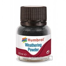 Humbrol 28ml Weathering Powder (Black)