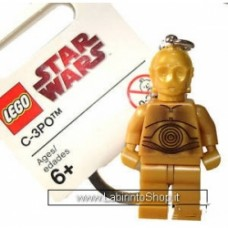 Star Wars portachiavi Lego C-3PO