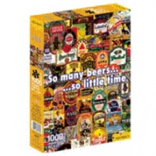 Puzzle so many beers so little time puzzle 1000 pezzi