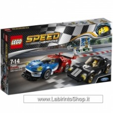 Lego - Speed - 75881 - Ford Gt 2016 E Ford Gt40