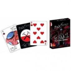 carte da gioco pink folyd the wall
