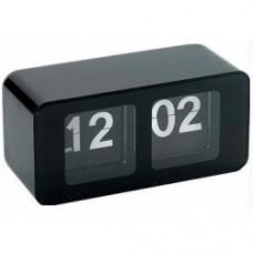 orologio flip palstica nero