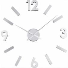 orologio parete numeri alluminio adesivi
