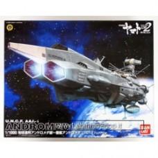 Bandai 145004 Yamato 2202 U.N.C.F. AAA-1 ANDROMEDA Movie Effect Version 1/1000