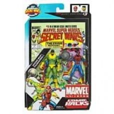 marvel universe comic packs spider-man thunderball