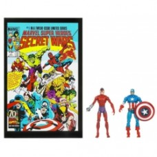 marvel universe comic pack captain america klaw
