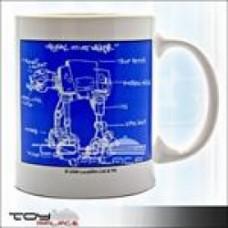 STAR WARS - ceramic mug small format AT-AT Sketch