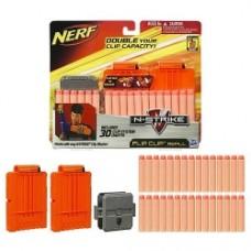 Refill Set Case nerf flip clip refill 30 dardi