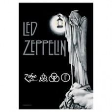 Led Zeppelin stairway to heaven poster in stoffa