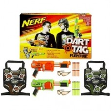 Nerf Dart Tag Furyfire 2 Player Set Case