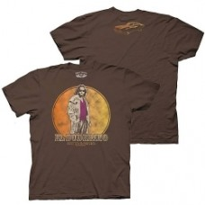 Big Lebowski T-shirt marron