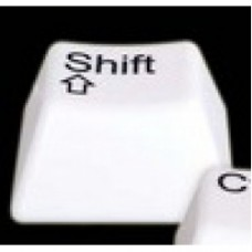 lampada tasto computer shift