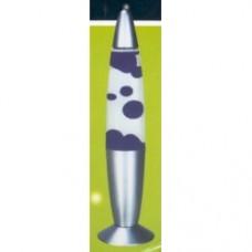 lava lamp missile gialla