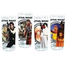 star wars glasses 4 pack