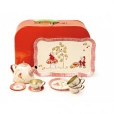 set tea con valigetta