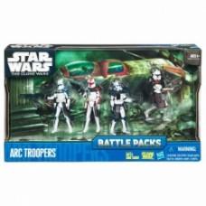 Star Wars The Clone Wars Battle Packs: ARC Troopers