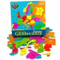 Geo puzzle Europa