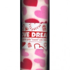 coperta pile couri rosa