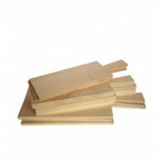tagliere legno corto legno chiaro venato