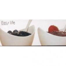 easy life - 3 ciotole marmellate 1 vassoio bambù