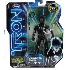 Tron legacy impulse projection action figure deluxe sam flynn