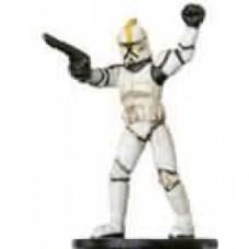 Clone Trooper Commander #08 Clone Strike Star Wars Miniatures